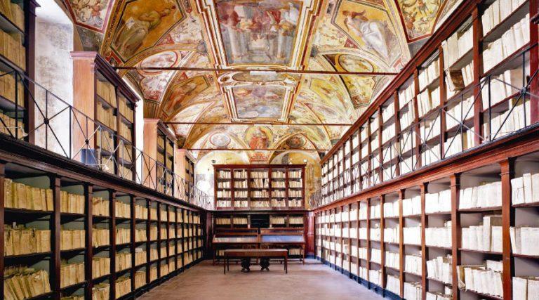 Banco di Napoliの歴史的なアーカイブ
