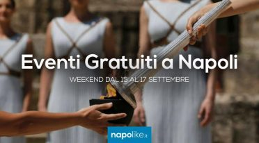 Free events in Naples during the weekend from 15 to 17 September 2017