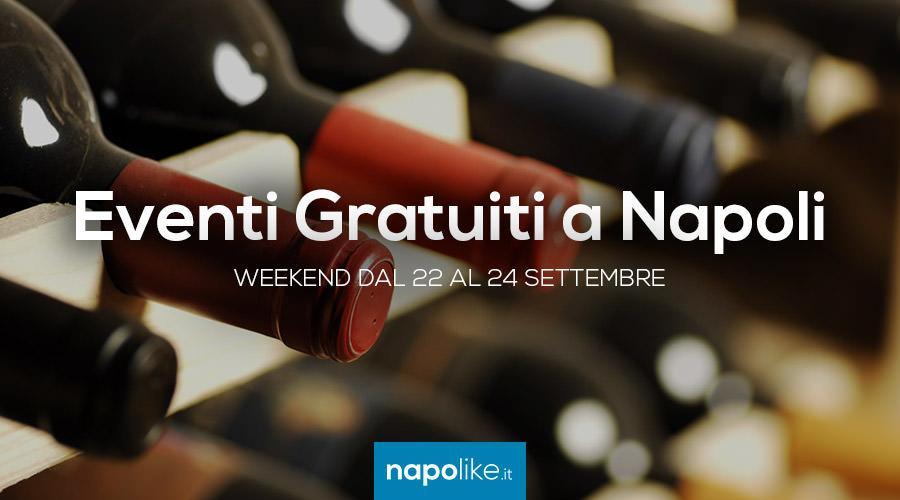 Eventi gratuiti a Napoli nel weekend dal 22 al 24 settembre 2017