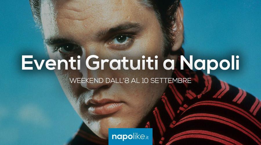 Eventi gratuiti a Napoli nel weekend dall'8 al 10 settembre 2017
