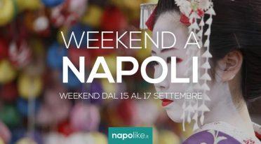 Eventi a Napoli nel weekend dal 15 al 17 settembre 2017