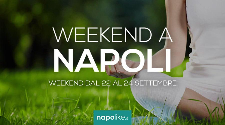 Eventi a Napoli nel weekend dal 22 al 24 settembre 2017