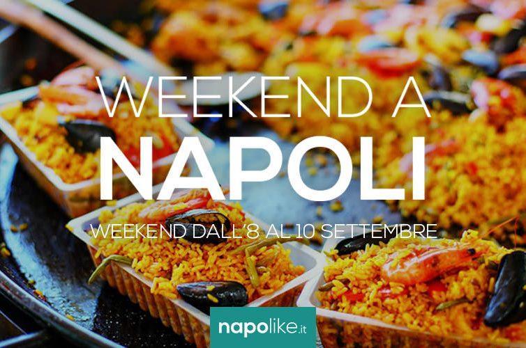 Eventi a Napoli nel weekend dall'8 al 10 settembre 2017