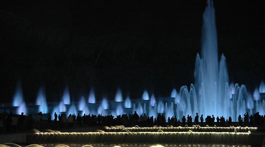 Fontana Esedra alla Mostra d'Oltremare di Napoli