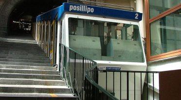 Funicular of Mergellina in Naples