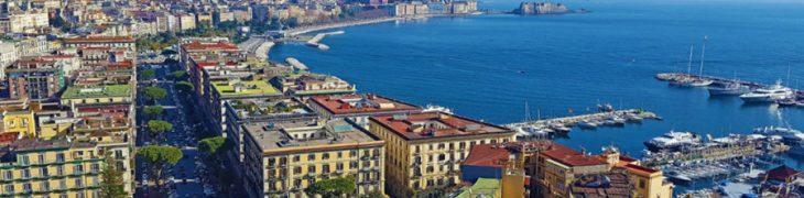 Panorama di Napoli dall'alto