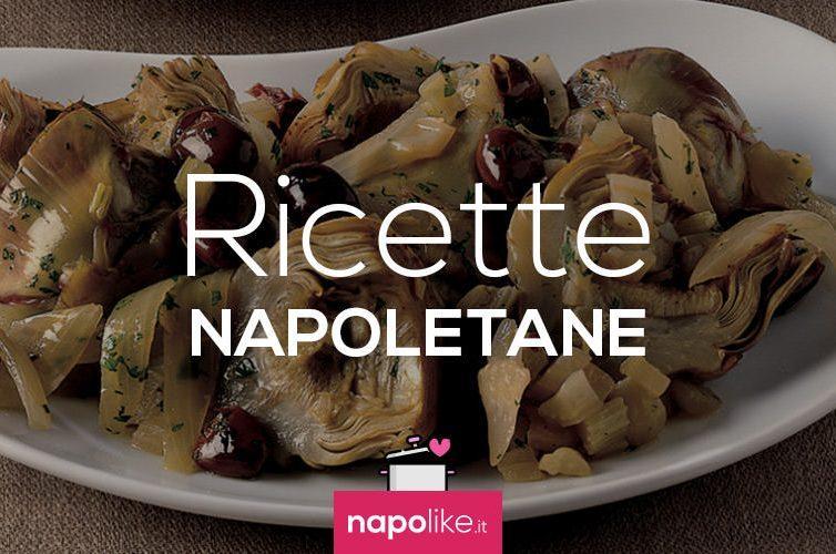 Ricetta dei carciofi con olive e capperi
