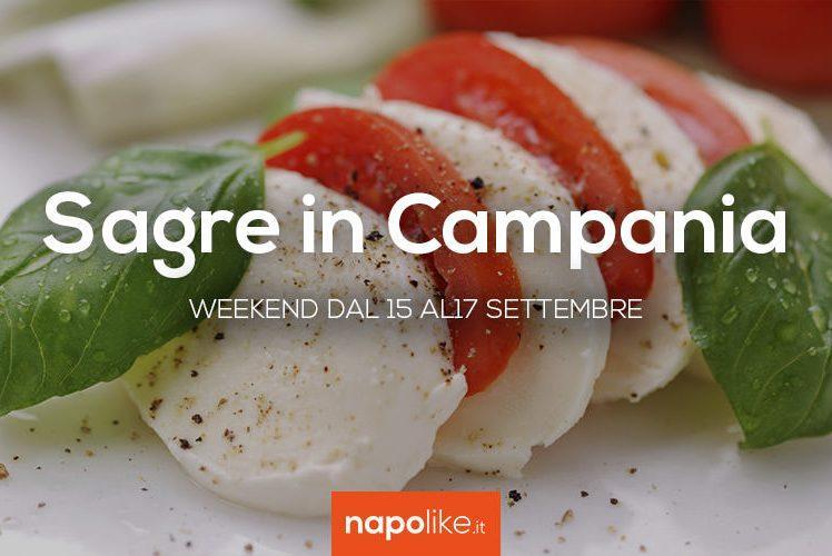 Sagre in Campania nel weekend dal 15 al 17 settembre 2017