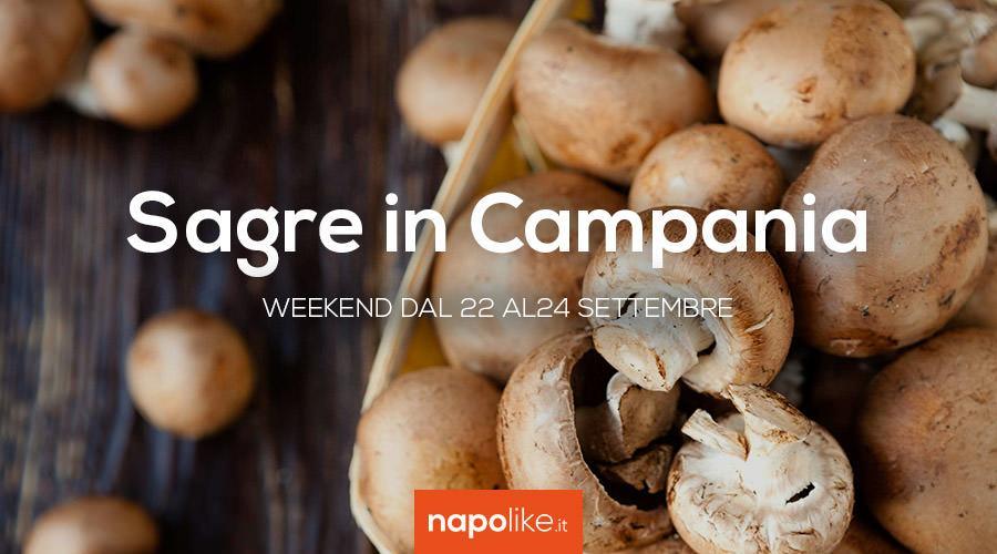 Sagre in Campania nel weekend dal 22 al 24 settembre 2017