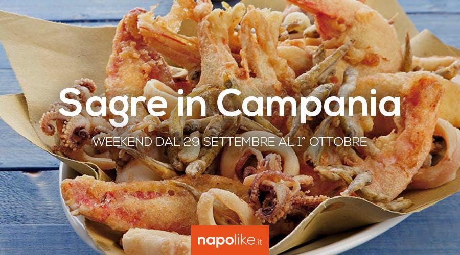 Sagre n Campania nel weekend dal 29 settembre all'1 ottobre 2017