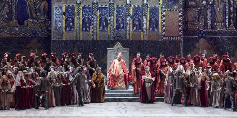 Simon Boccanegra in scena al Teatro San Carlo di Napoli