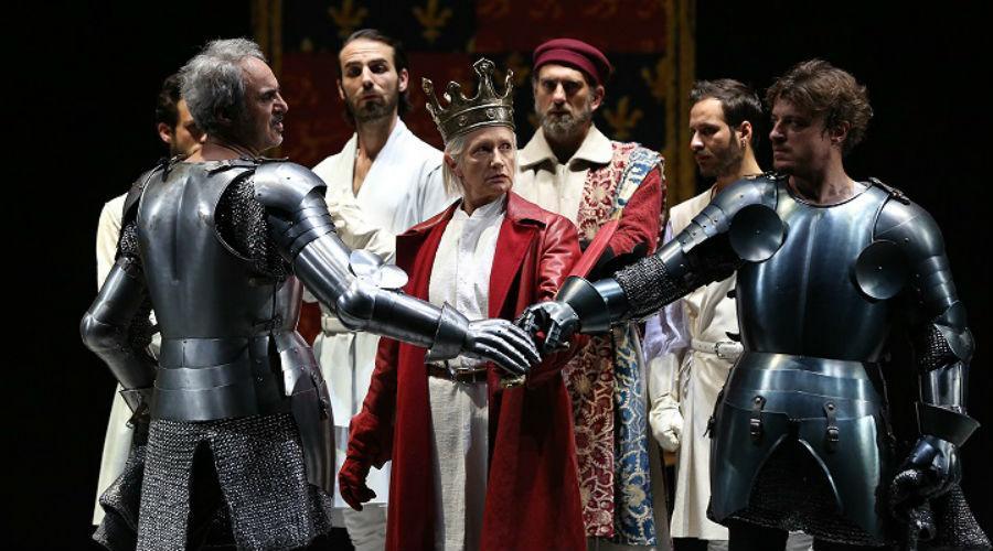 Riccardo II di Shakespeare in scena al Teatro Stabile di Napoli per la stagione teatrale 2017/2018