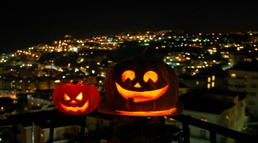 Halloween 2017 al Castel dell'Ovo con