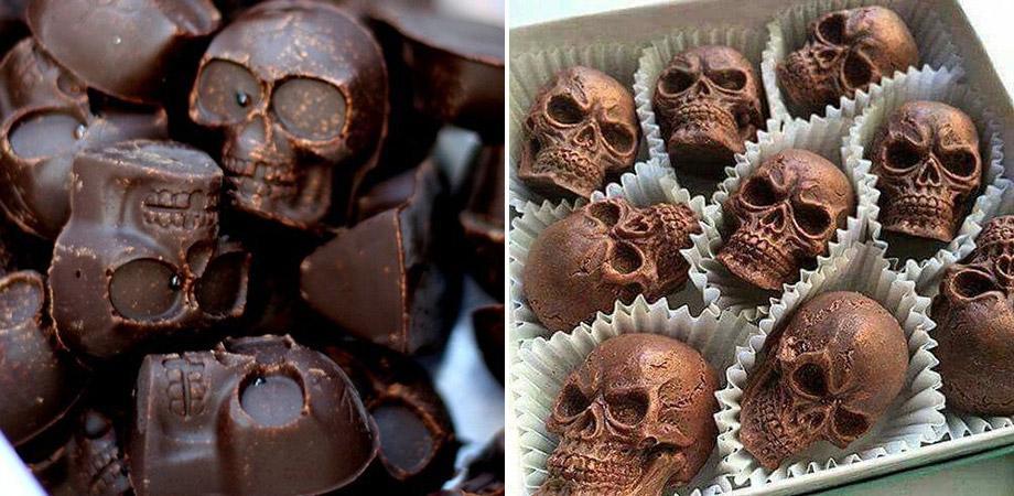 Capuzzelle di Halloween al cioccolato