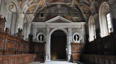 Нижняя церковь Санти-Северино и Соссио в Неаполе