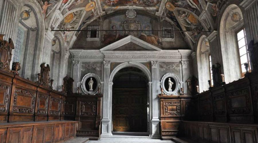 La chiesa inferiore dei Santi Severino e Sossio a Napoli