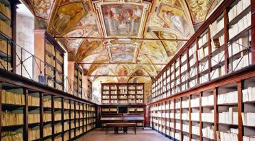 The state archives of Naples that can be visited during the Sunday of 2017 paper
