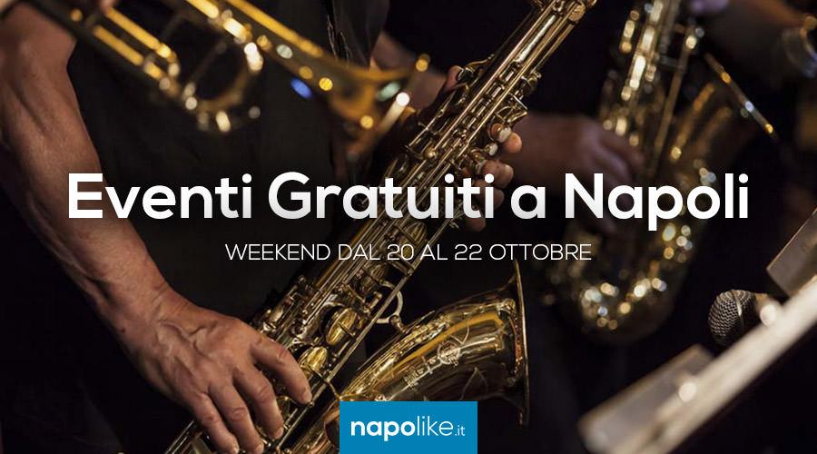 Eventi gratuiti a Napoli nel weekend dal 20 al 22 ottobre 2017