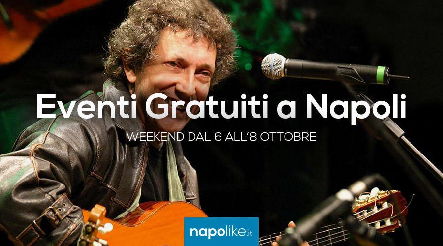 Eventi gratuiti a Napoli nel weekend dal 6 all'8 ottobre 2017
