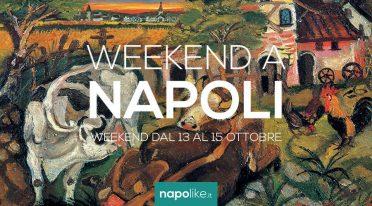 Eventi a Napoli nel weekend dal 13 al 15 ottobre 2017