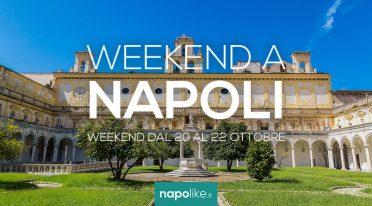 Eventi a Napoli nel weekend dal 20 al 22 ottobre 2017