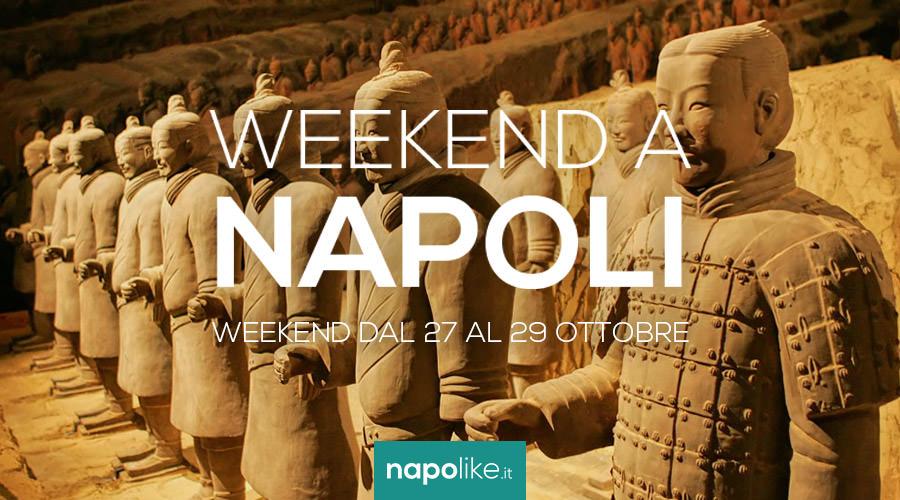 Eventi a Napoli nel weekend dal 27 al 29 ottobre 2017