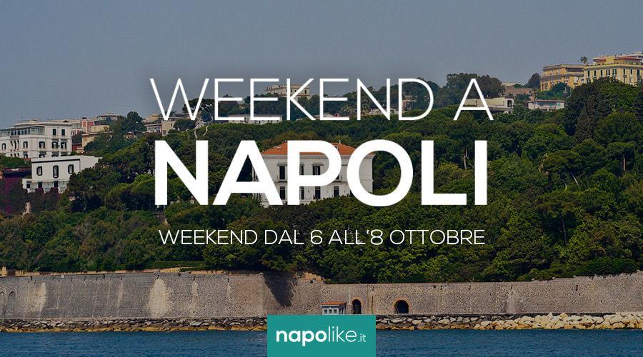 Eventi a Napoli nel weekend dal 6 all'8 ottobre 2017