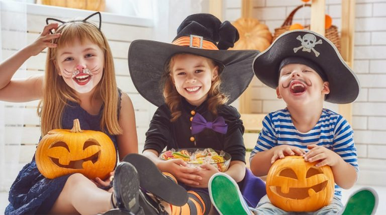 Halloween 2017 for children in Naples