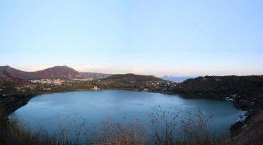 Lago d'Averno a Pozzuoli, Halloween 2017