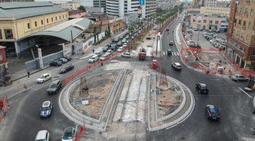 Kreisverkehr von via Marina in Neapel