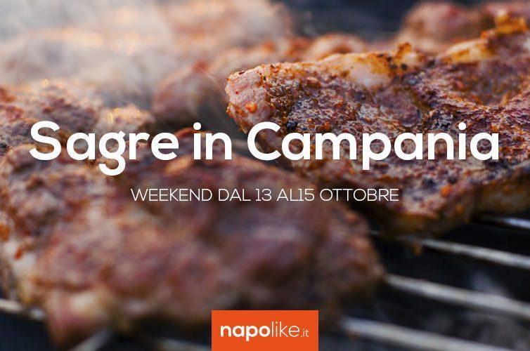 Sagre in Campania nel weekend dal 13 al 15 ottobre 2017