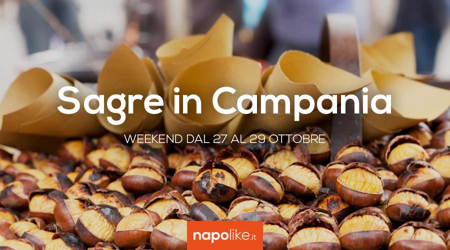 Sagre in Campania nel weekend dal 27 al 29 ottobre 2017