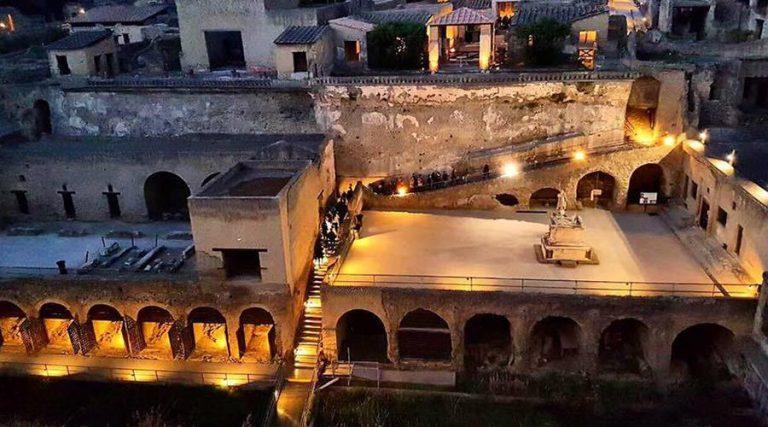 Excavations of Herculaneum,