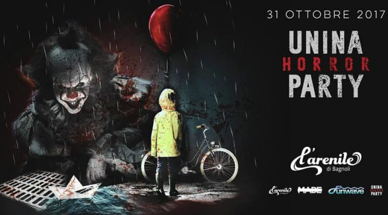 Unina Horror Party 2017 - Halloween all'Arenile di Bagnoli