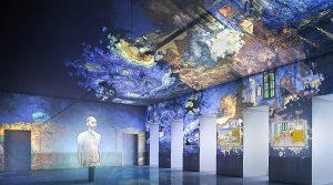 locandina di Van Gogh Immersive Experience a Napoli: la mostra multimediale alla Basilica di San Giovanni Maggiore