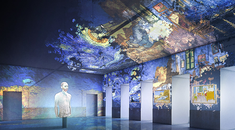 Van Gogh Immersive Erfahrung in Neapel