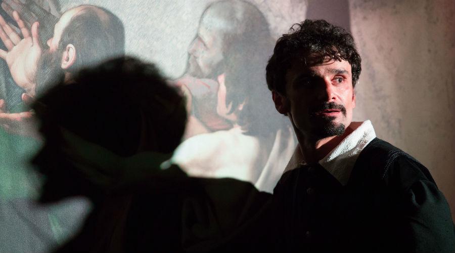 """Lo spettacolo """"84 giorni - Le ombre del Caravaggio"""" all'Archivio Storico del banco di Napoli"""
