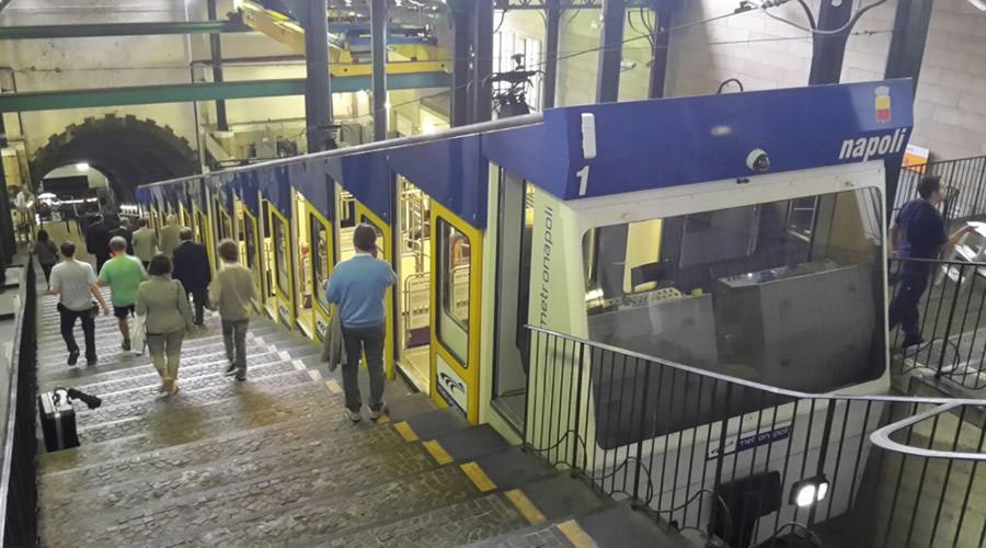 Funicolare di Chiaia a Napoli