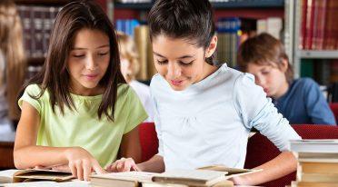 Punto lettura per bambini alla Biblioteca Nazionale di Napoli