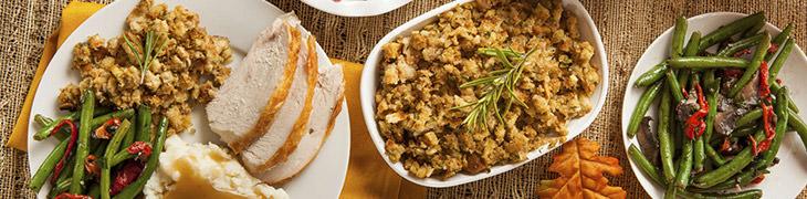 Contorni per la cena del Ringraziamento
