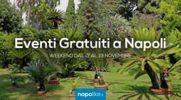 Eventi gratuiti a Napoli nel weekend dal 17 al 19 novembre 2017