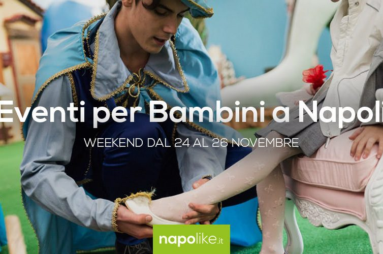 Eventi per bambini a Napoli nel weekend dal 24 al 26 novembre 2017