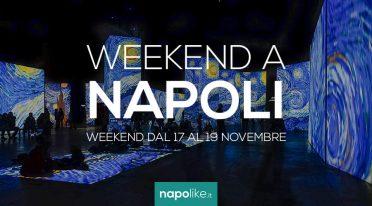 Eventi a Napoli nel weekend dal 17 al 19 novembre 2017