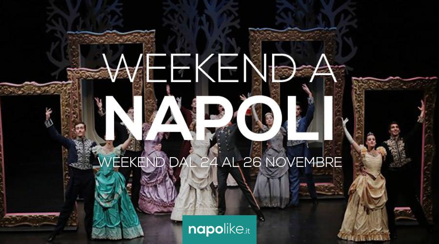 Eventi a Napoli nel weekend dal 24 al 26 novembre 2017