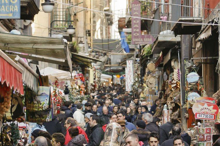 fiere san gregorio armeno e san biagio dei librai per Natale 2017 a Napoli