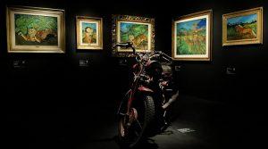 locandina di Il Museo della Follia – da Goya a Maradona: a Napoli mostra a cura di Vittorio Sgarbi