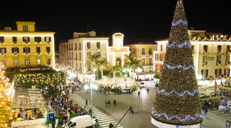 Christmas in Sorrento, M'Illumino in Winter 2017 / 2018