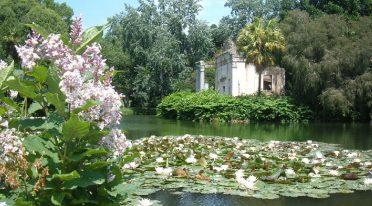 Park des königlichen Palastes von Caserta, Besuch für den Tag der Bäume