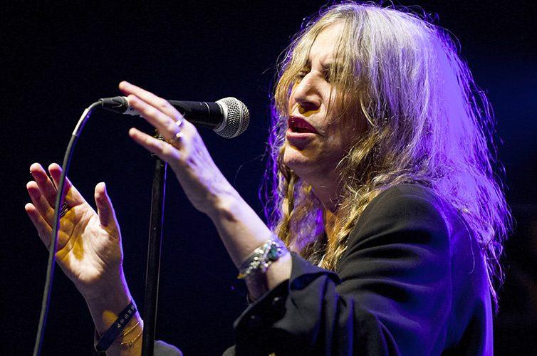 Patti Smith, concerto a Napoli
