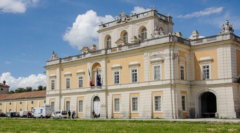 قصر Carditello ، يفتح حتى يناير 2018